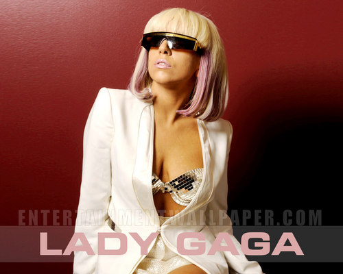 Lady Gaga wallpaper containing a portrait titled -LadyGaga♥