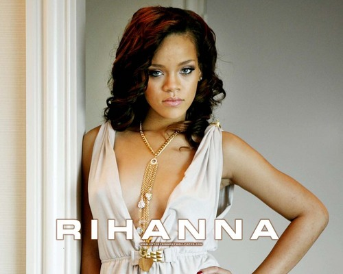 Rihanna wallpaper containing a portrait called -Rihanna♥