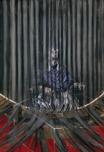 'Study after Velazquez' da Francis bacon, pancetta affumicata