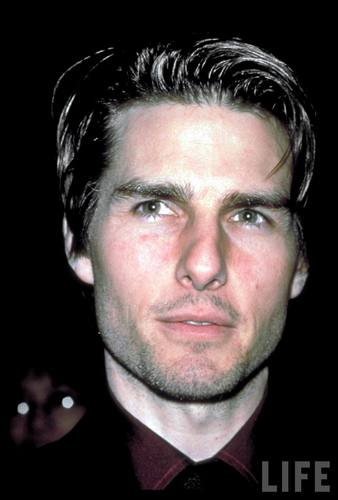 Tom Cruise close-up