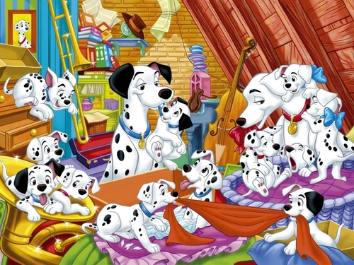 101 Dalmations Wallpaper