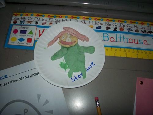 1st grade Alien Open House alien
