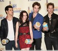 2009 MTV Movie Awards - Press Room - twilight-series photo