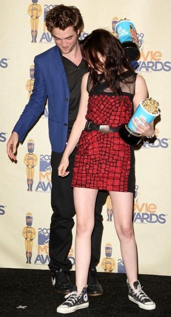 2009 mtv Movie Awards - Press Room