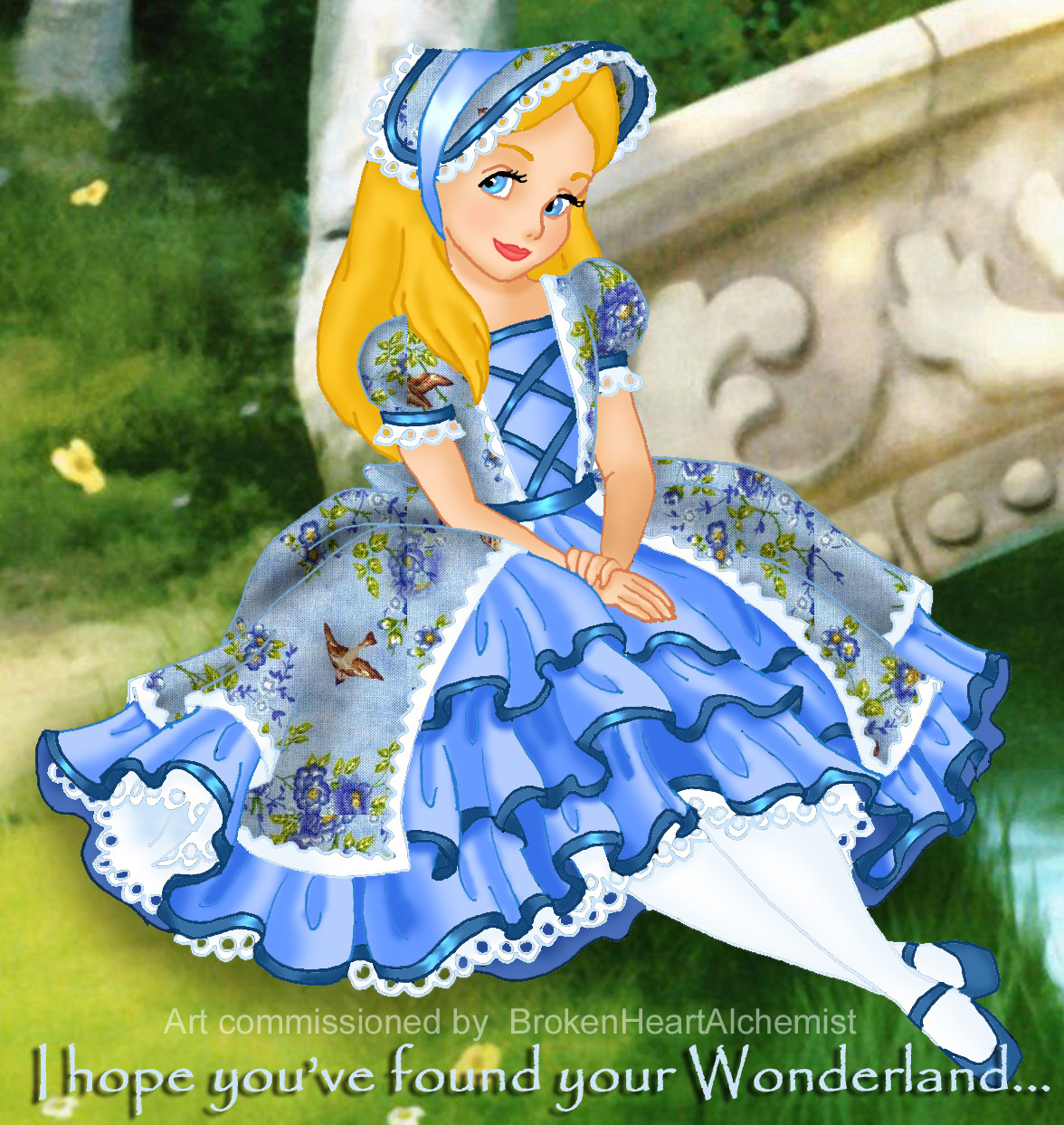 Alice Wonderland Cartoons Disney Wallpaper