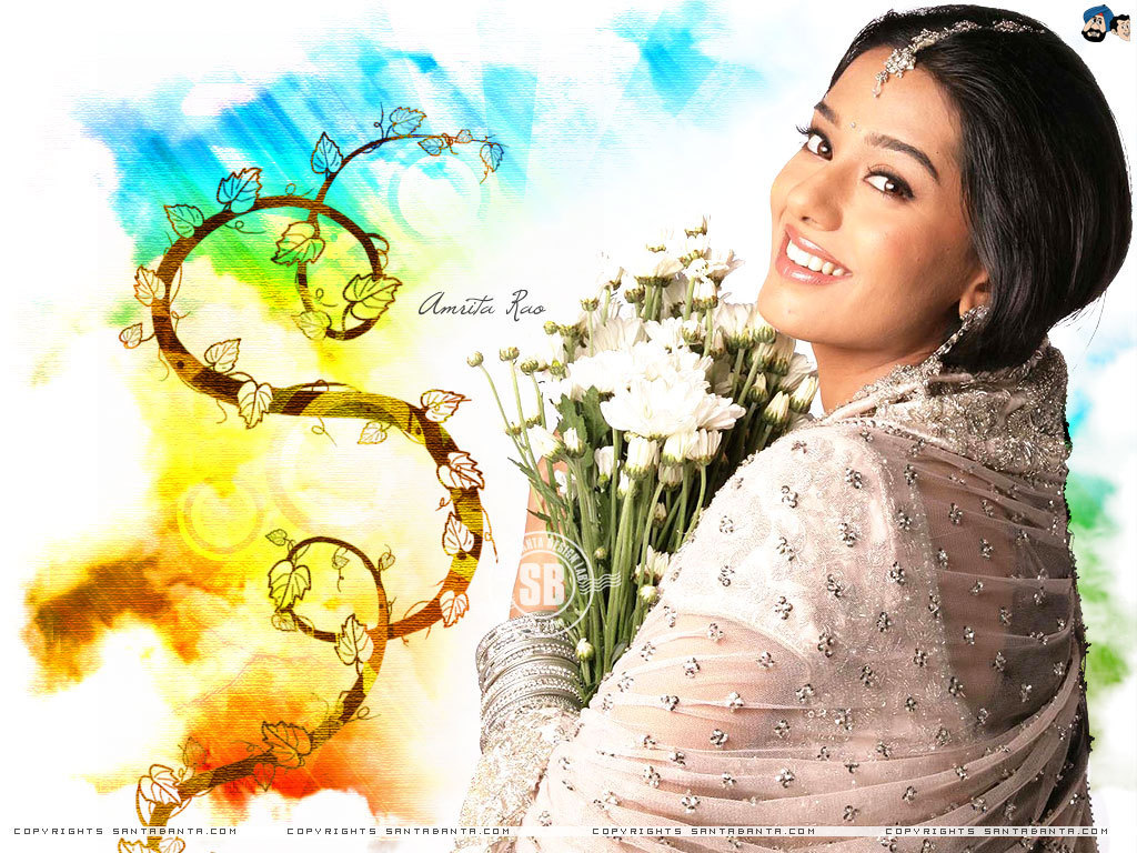 Beautiful Wallpaper Movie Vivah - Amrita-Rao-amrita-rao-6432906-1024-768  Image_452690.jpg