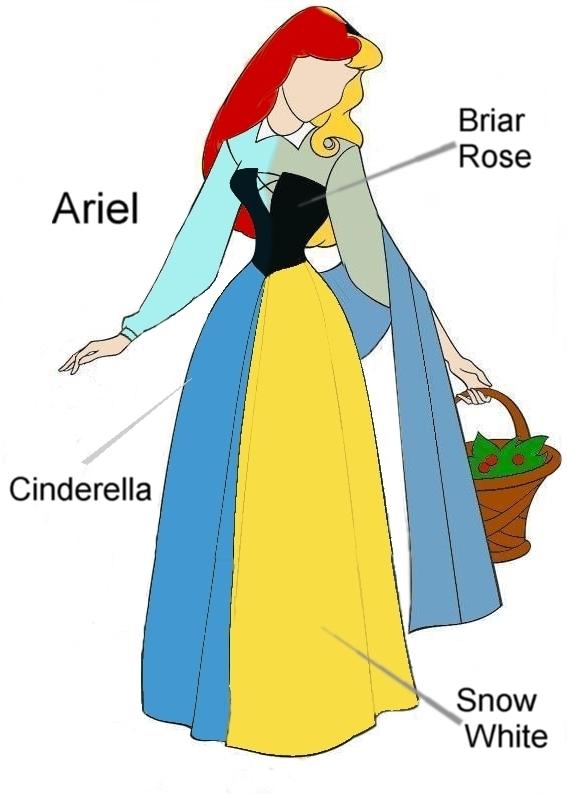 Ariel Blue Tribute Dress Disney Princess Photo 6432461