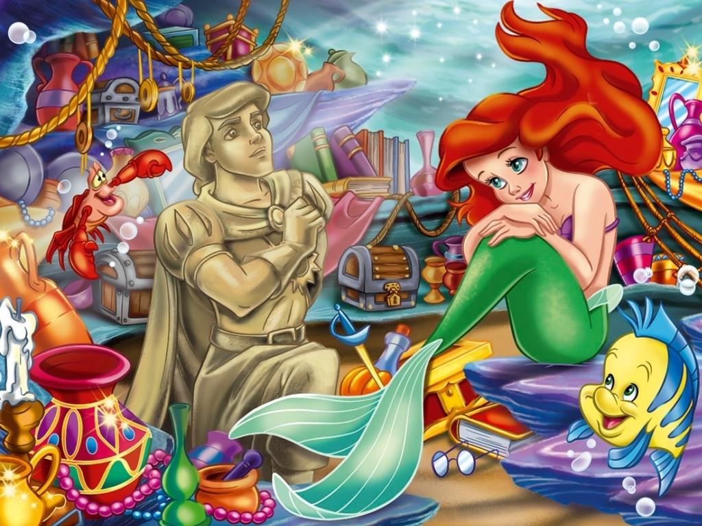 Disney Princess Ariel, The Little Mermaid Wallpaper