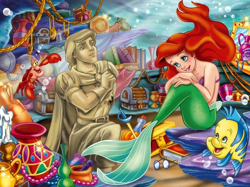 Ariel, The Little Mermaid Wallpaper - Disney Princess Wallpaper (6496750) -