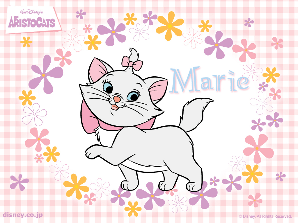 Disney Aristocats  Marie Wallpaper