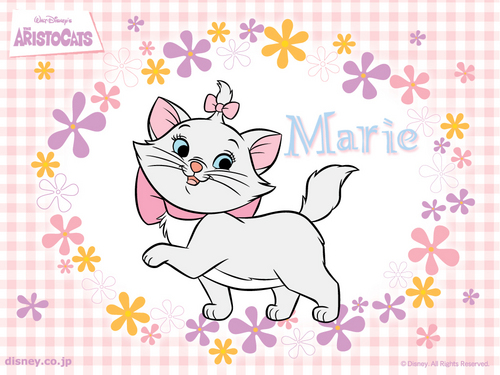 disney wallpaper called Aristocats, Marie wallpaper