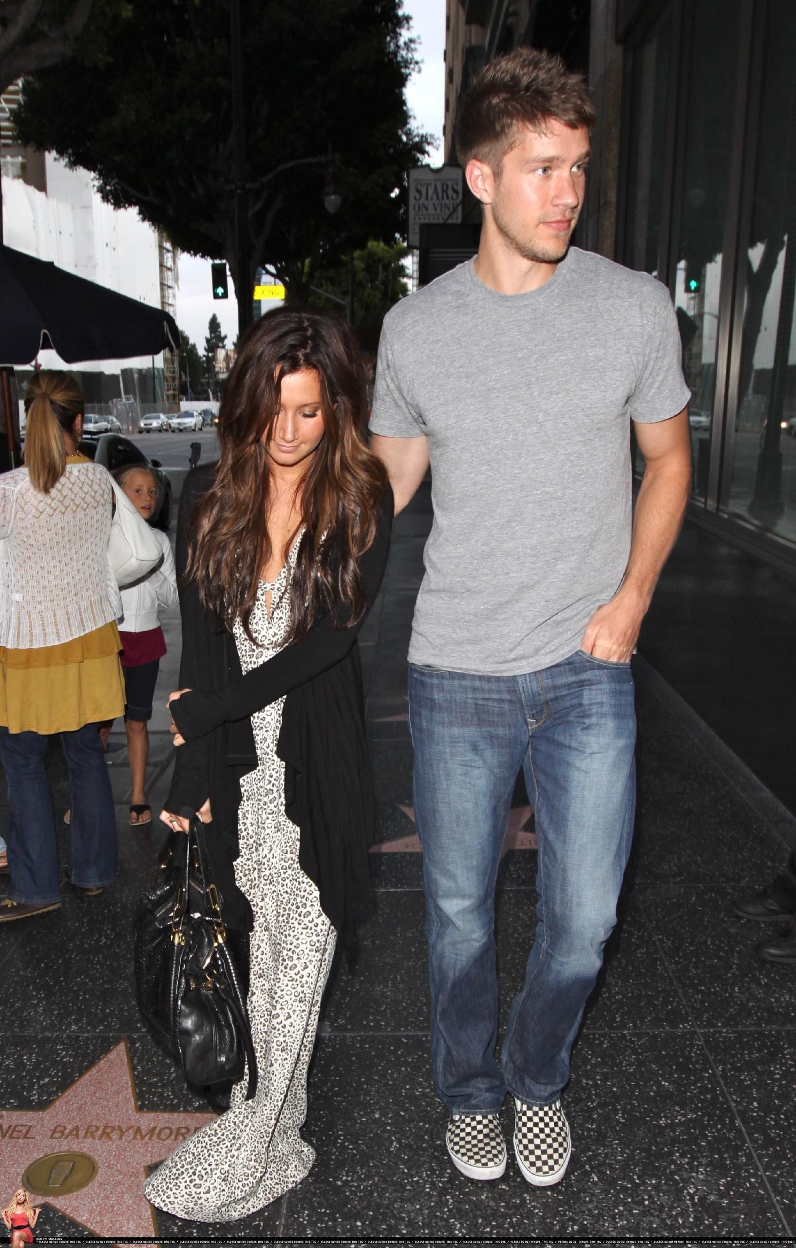 Ashley Tisdale Ashley and boyfriend Scott Speer leaving Katsuya in    Ashley Scott Boyfriend