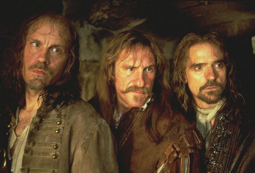 Athos, Aramis and Porthos