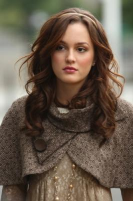 Blair Waldorf wallpaper probably with a surcoat entitled BW
