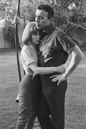 Barbara and husband Michael Ansara - i-dream-of-jeannie Photo