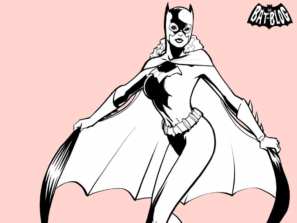Batgirl pretty in گلابی