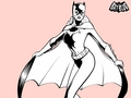 batman - Batgirl pretty in pink wallpaper