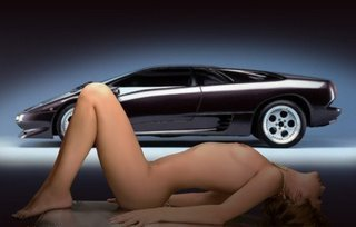 Girls n Cars wallpaper probably containing skin called Blondes And Banners