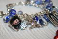 Blue Wolf Jocob inspired charm Bracelet $20 - twilight-series photo