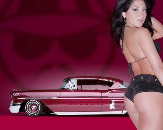Hot girls and nice cars