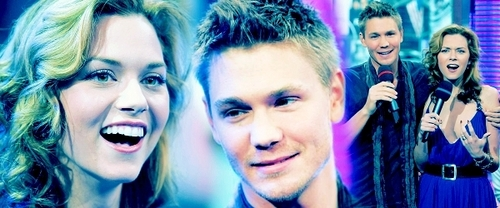 Chad and Hilarie wallpaper containing a portrait entitled CHilarie. <3