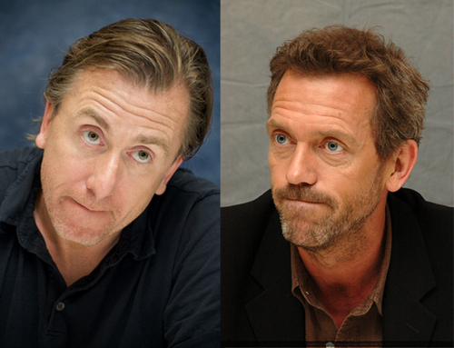 Cal & House / Tim and Hugh picture similarities