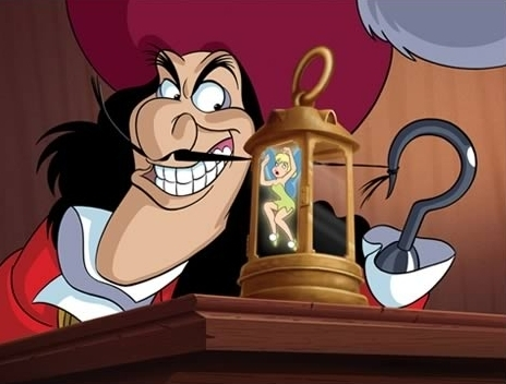 Captain Hook and Glöckchen