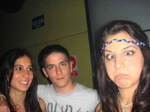 Cesc and Carla with دوستوں
