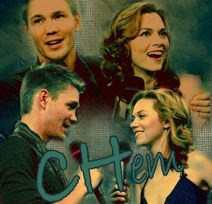 Chad and Hilarie wallpaper possibly containing a portrait and anime entitled Chad & Hil <3