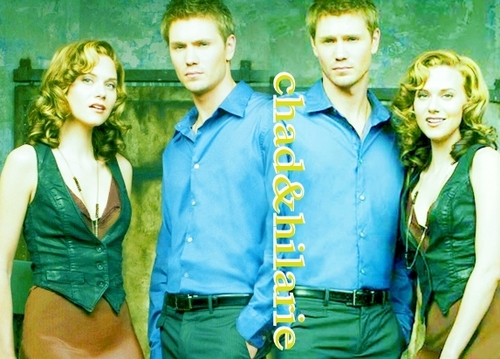 Chad and Hilarie wallpaper possibly containing a well dressed person called Chad & Hil <3