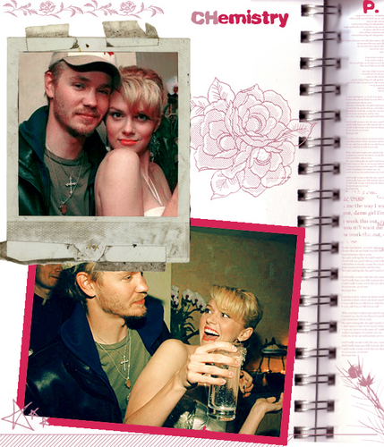 Chad and Hilarie wallpaper possibly containing a newspaper, a sign, and anime called Chad & Hil <3