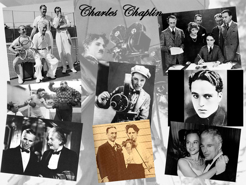 Charlie Chaplin karatasi la kupamba ukuta probably containing a newspaper and anime titled Charlie Chaplin