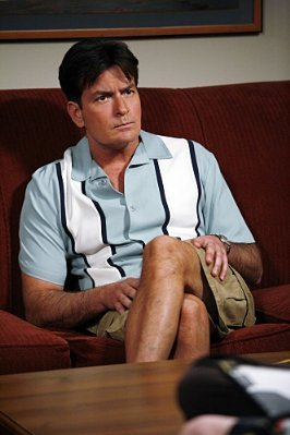 Charlie Sheen as Charlie Harper - two-and-a-half-men Photo