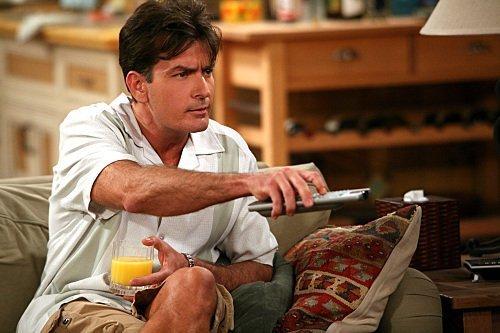 Charlie Sheen as Charlie Harper