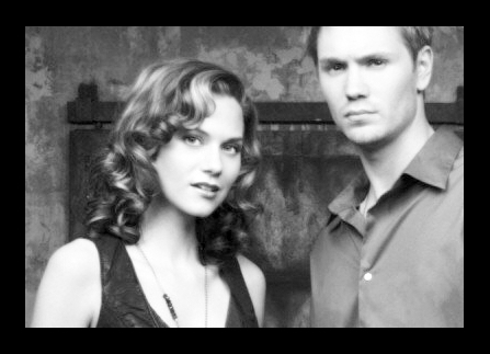 Chad and Hilarie wallpaper probably with a business suit, a well dressed person, and a portrait titled Chil.