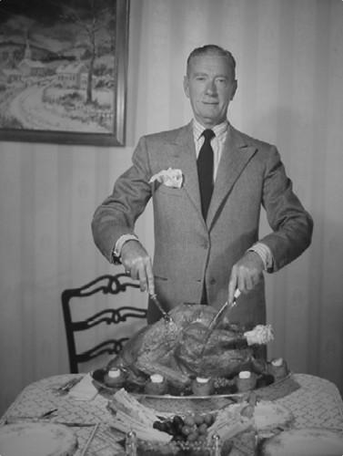 Clifton Webb Thanksgiving Publicity foto
