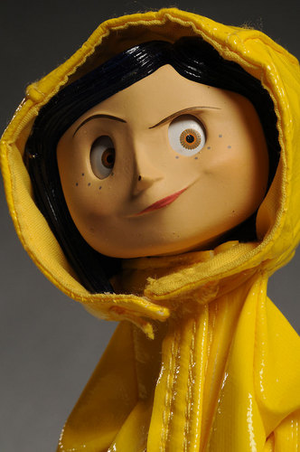 Coraline wallpaper entitled Coraline Figure