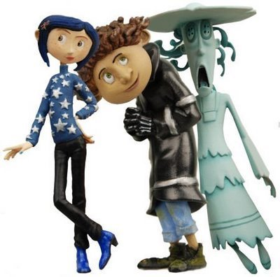 Coraline wallpaper entitled Coraline Figure's