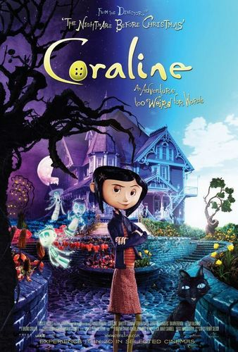 Coraline hình nền possibly containing anime called Coraline Movie Cover