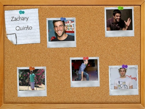 Zachary Quinto wallpaper possibly with animê entitled Cork Board