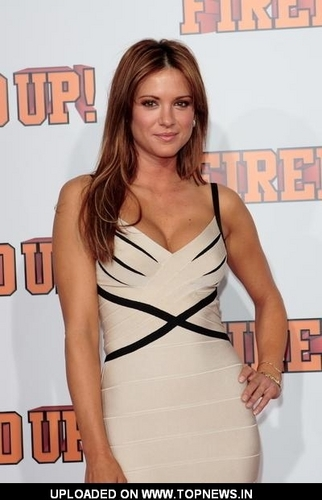 Danneel at the Fired up Premiere