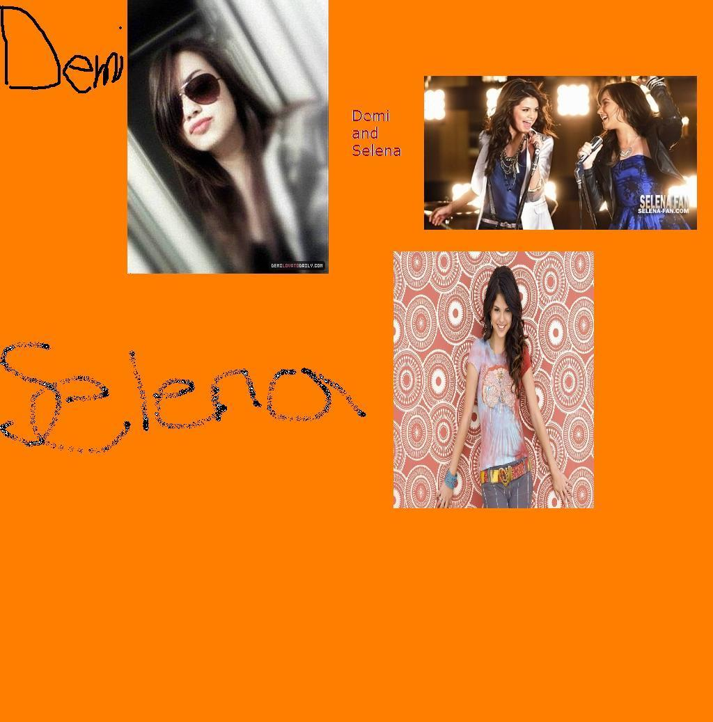 Demi and Selena fan art