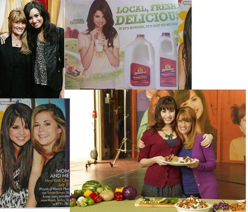Demi and Selena peminat art
