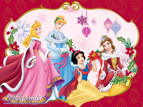 Disney Princess Natale wallpaper