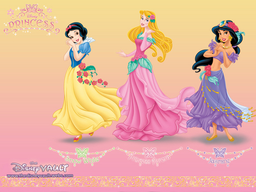 Disney Princess kertas dinding