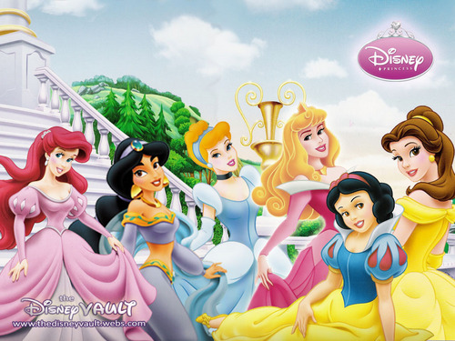 Disney Princess پیپر وال