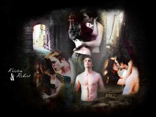 Edward & Bella 壁纸 2