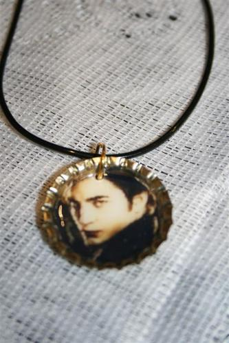 Edward bottle cap necklace $8
