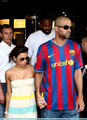 Eva Longoria and Tony Parker leave Grand Hotel Via Veneto in Rome, Italy - 27 May 2009 - eva-longoria photo