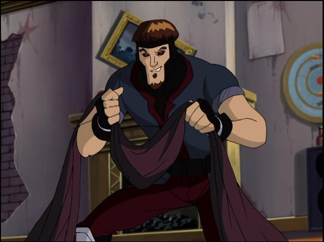X-Men Evolution Gambit...